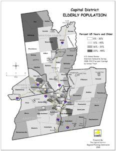 Capital District Percent 65 & Older