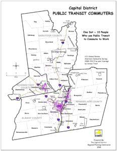 Capital District Public Transit Commuters