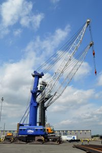 CDRPC assisted the Port of Albany in obtaining an EDA grant for this mobile harbor crane.