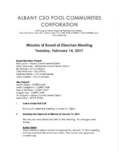 17 03 09 cso corporation board meeting minutes cdrpc